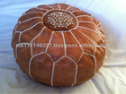Handmade Moroccan Leather footstall/pouffe
