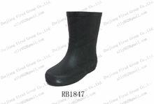 2013 classic dark rubber rain boots for kids