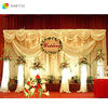 new hot selling shower curtain valance for wedding decor stage