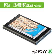 high sensitive antenna,OS wince 6.0 5inch portable gps, av-in,bluetooth GPS navigation