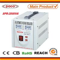 CPU Controlled 2000watt jual stabilizer/2kw jual regulator for 110v/220v ac