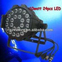 quad colors 4in1 24x10w par64,die-casting aluminum par can,24*8W 4 in 1 LED PAR QUAD