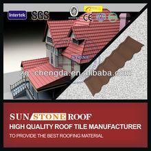 Terracotta Granule Roof Tiles Asphalt Roofing Price