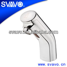 Automatic hand touch free cold water sensor tap for wash basin Widespread Bidet Faucet V-AF5012