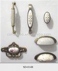 kitchen knob ceramic drawer cabinet