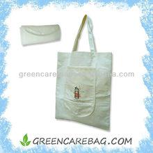 Biodegradable Foldable bamboo handle bag