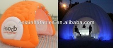 Sewed Inflatable Tent for Winter Use