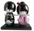 Bonecas de gueixas japonesas moda japonesa boneca de madeira, Novo design