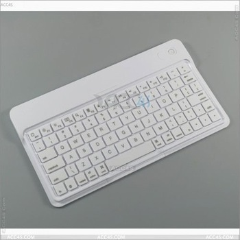 Universal ultra slim Aluminum wireless bluetooth keyboard with Lithum battery for ipad keyboard