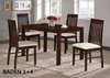 dining set, dining room set, table, chair, malaysia furniture, wooden set, furniture, rubberwood dining set, wooden furniture