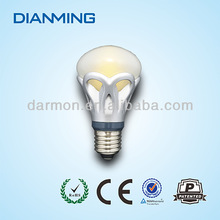 dimmable led bulb/led dimmable bulb/6w e27 IP65, CRI>80, 3 years warranty