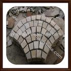 fan-shape paving stone