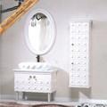 الحرف اليدوية والفنون السيراميك حوض غسيل حمامات الخشب الصلب الغرور