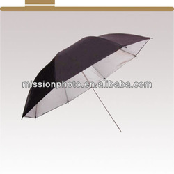 """33"""" Inch Photography Umbrella 84cm Diffusion Black and Silver Studio Diffuser"""
