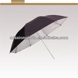 """photographic umbrella black/silver reflector diffuser 36"""""""