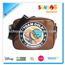 2014 Cool graphic design shoulder strap book bag