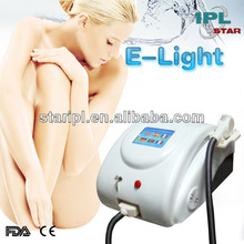 Portable HOT!!! Beauty Equipment hair removal machine E-Light IPL hair removal smooth away