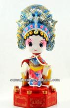 Bellezas antiguas de la señora Zhaojun resina de la fantasía figuras