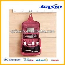 Women fashion travel hanging bathroom bag/ toiletry bag