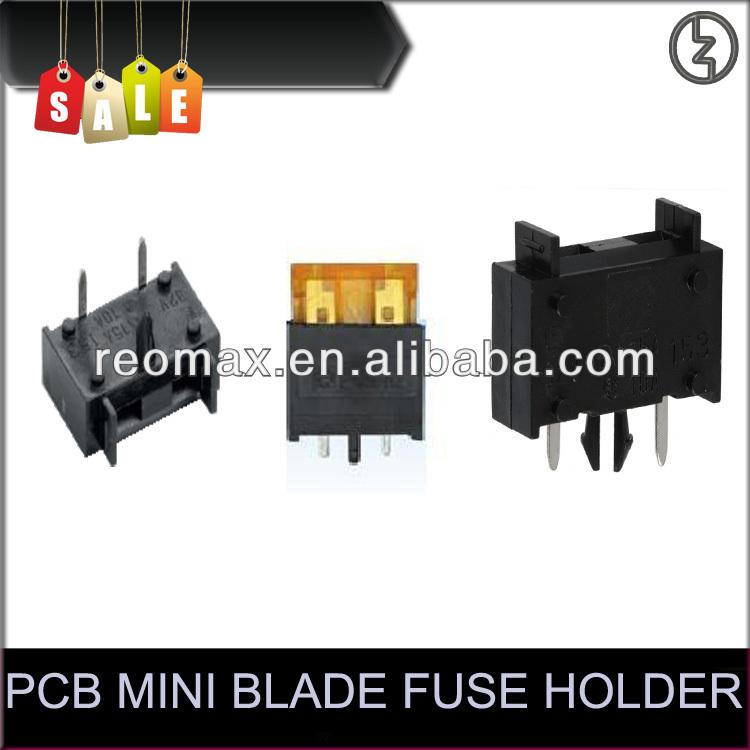 Pcb Fuse Holder Pcb Mini Blade Fuse Holder