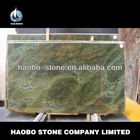 Haobo Beautiful Decorative Wall Green Marble Slab