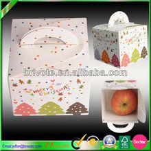 Christmas apple packaing box apple fruit box for christmas