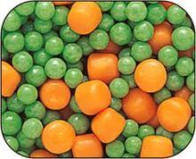 frozen peas&carotte