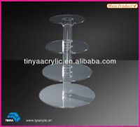 Cupcake Stand Plastic Crystals Stand