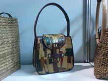 Katrine Water Hyacinth [Water Lily] Abstract Hand Bag