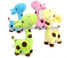 Factry direct sale new design top quality stuffed giraffe toy on sell