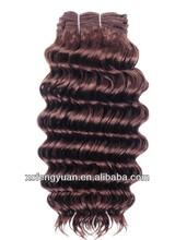Top level silky soft virgin peruvian and brazilian human love hair