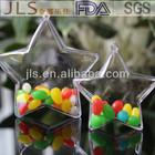 Hanging plastic stars,decorative plastic stars 100MM