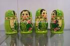 Wooden Matryoshka Dolls, Wooden Russian Nesting dolls