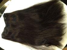 Weft Human Hair Extension Mongolian virgin Straight