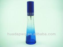heart shaped shape perfume glass bottle