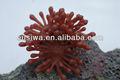 Cheep artificial aquario coral decorativa para a decoração do aquário, cheep coral artificial