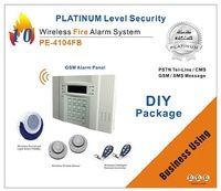 Conventional Fire Alarm Control Panel Alarm System PE-4104