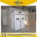 Focus fsm-3168 de tamaño medio pollo incubadora del huevo