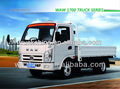 Waw la luz camión con un buen desempeño 2.5 toneladas de capacidad de carga