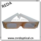 3D high quality glasses watch,paper 3D circular polarized glasses for projectors 3d passive
