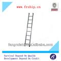 3 paso de tubo de aluminio escalera