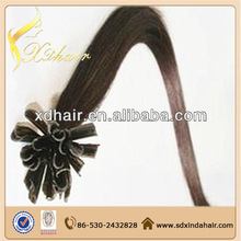 Glue for hair extensions pre-bonded u tip hair extensions