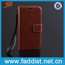 Wallet Flip Case for Galaxy s4 mini i9190 Crazy Horse Design