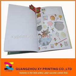children adhesive sticker book printing