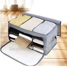 62L Bamboo Charcoal Clothes Storage Bag Box