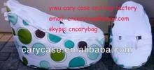 Great extra large circle pattern white seat baby beanbag chair, child Todler Bean Bag Kid Pod Seat Bean Bag, Nursery Snuggle Bed