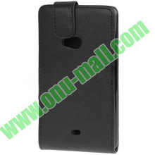 PU Leather Up and Down Flip Case for Nokia Lumia 625