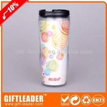 tea double walled plastic travel mug XSM7003