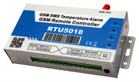 GSM sms Temperature and humidity alarm unit RTU5018 controller for refrigerated truck and air conditioned motor AC 100~240 V
