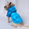 Blue Small Dog Clothes Winter Warm for Puppy Pet Hoodies Wholesale [FD110C]
